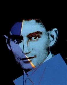 Graphic rendering of Franz Kafka