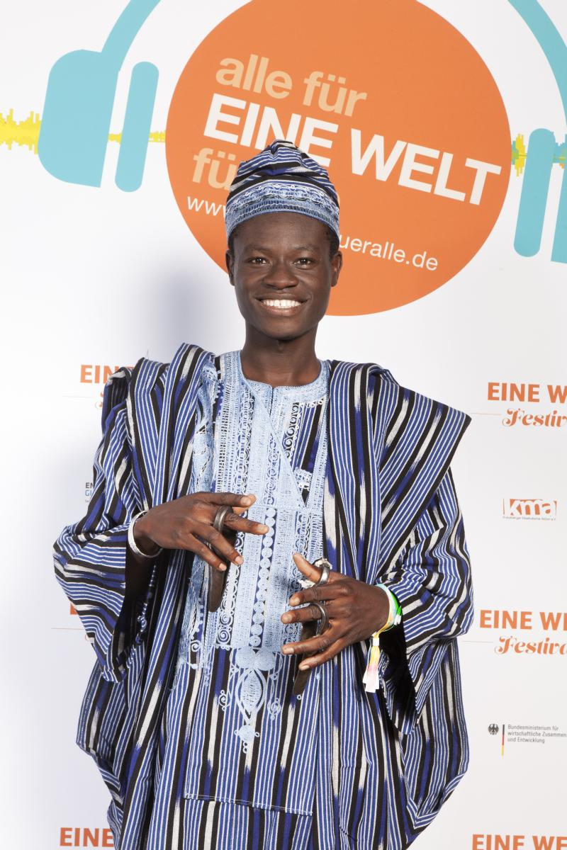 Ezé Wendtoin, Musician from Ouagadougou, Burkina Faso / Dresden, Germany: Music, Culture, Mediation. @ School of Music | Madison | Wisconsin | United States
