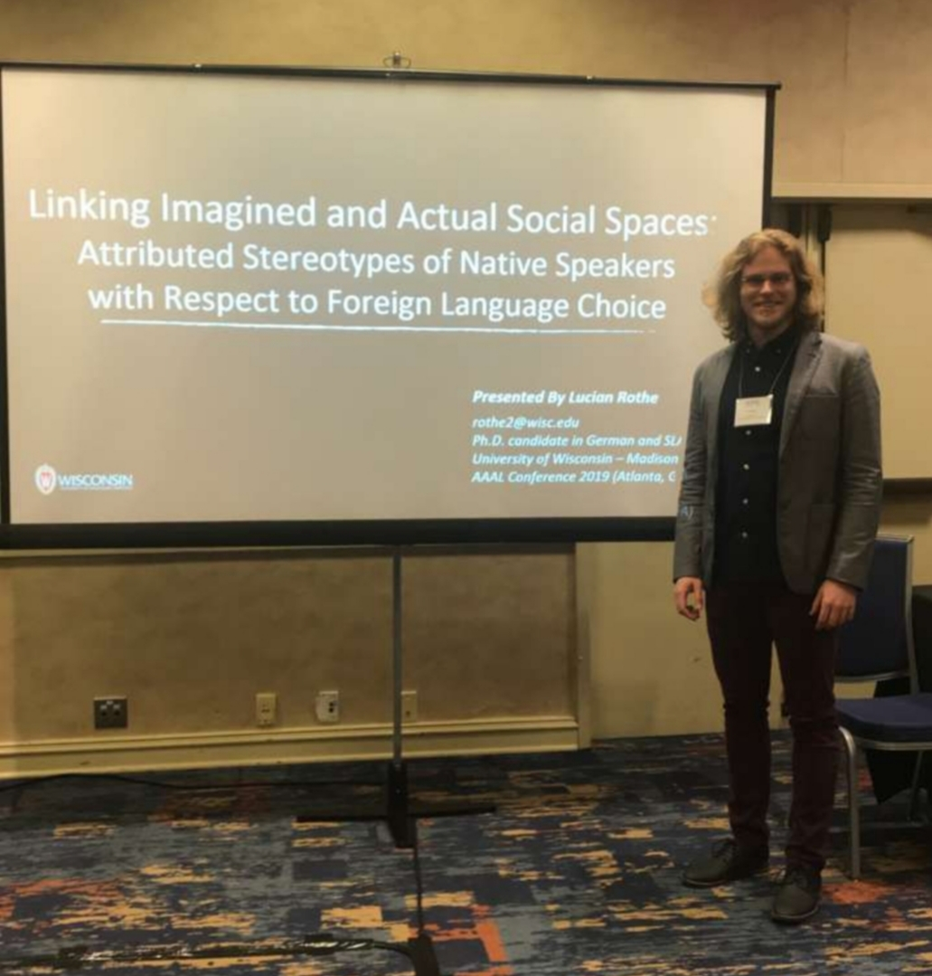 Madison Native And Uw Grad Who Was >> German Graduate Student Presents At American Association For Applied