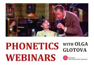 GSO Phonetics Webinars @ 290 Van Hise Hall